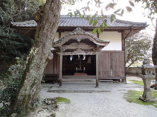 軽部神社(乳神様)観光名所